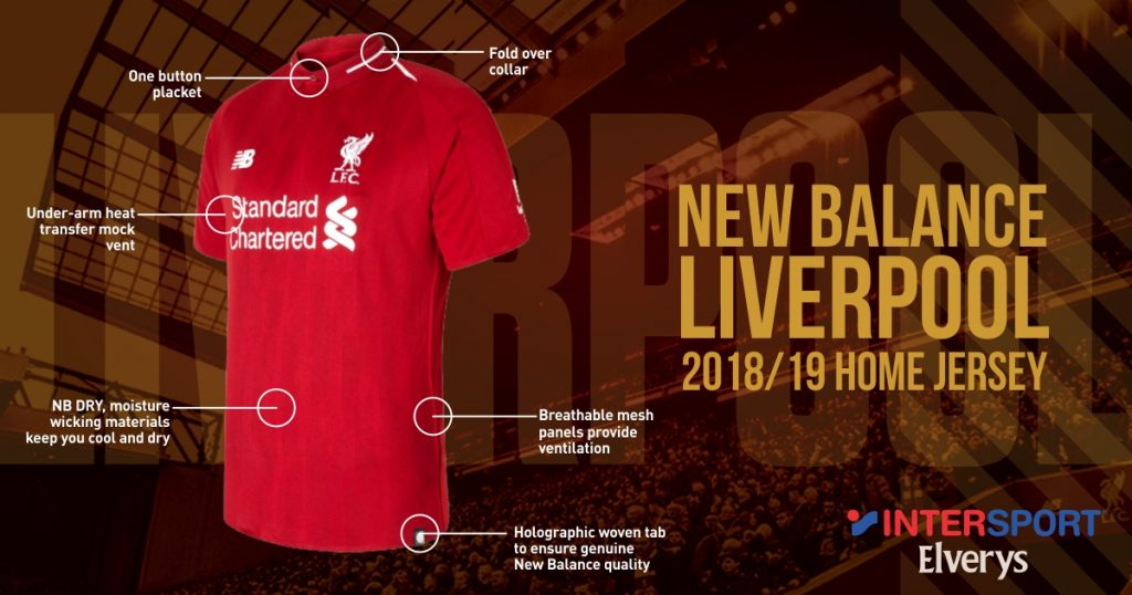 bd5d017d2d25 Saturday night's final will be the last time that Liverpool will wear the  2017/18 jersey. From the start of next season, 'The Reds' will be wearing  their ...