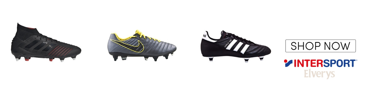 a4a7b712fe382 Soft Ground football boots usually have aluminum studs, in order to grip  the wet and muddy grass surfaces. SG boots are ideal for use in Ireland due  to the ...