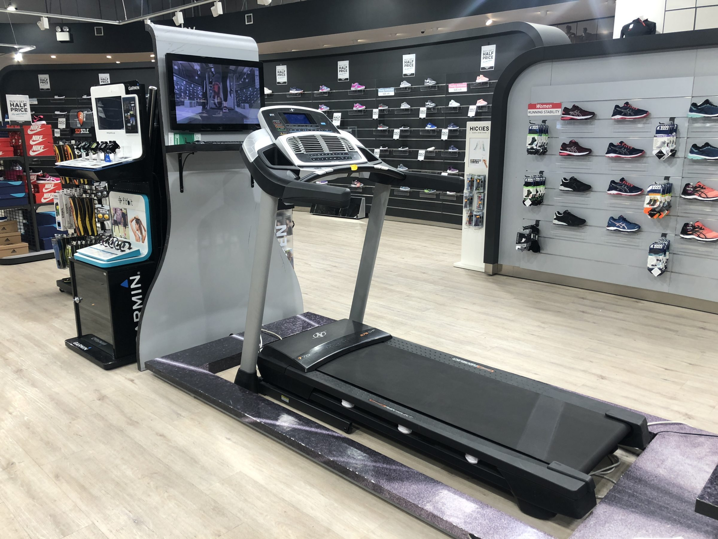 elverys gait analysis treadmill
