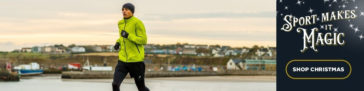 Andrew Coscoran Runner , running near the sea in Ireland
