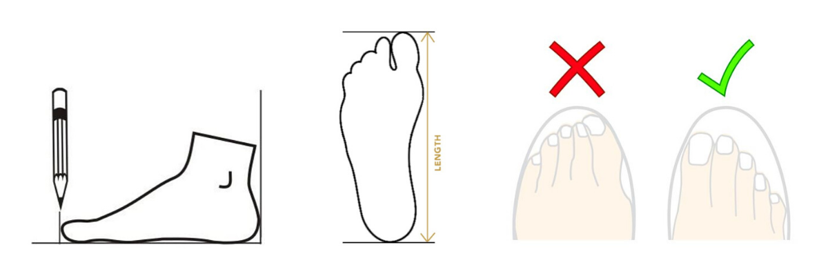 Foot Measuring Graphic