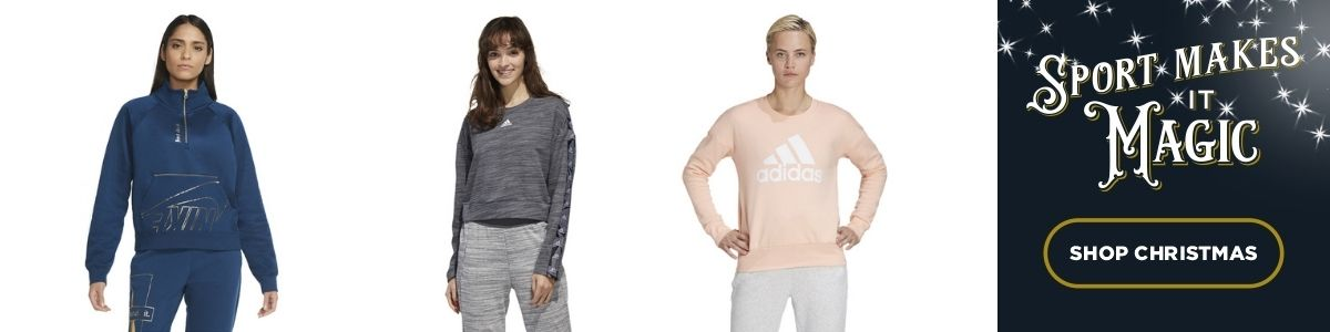 3 Product images - Nike and adidas style casual jumpers