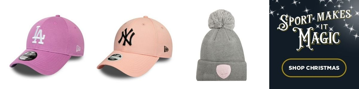 3 Product images - New Era Caps and Beanies