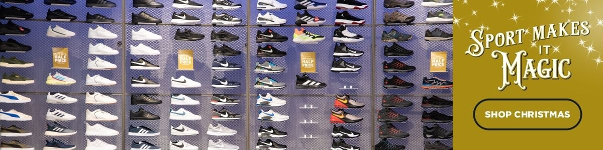 In-store - active footwear wall